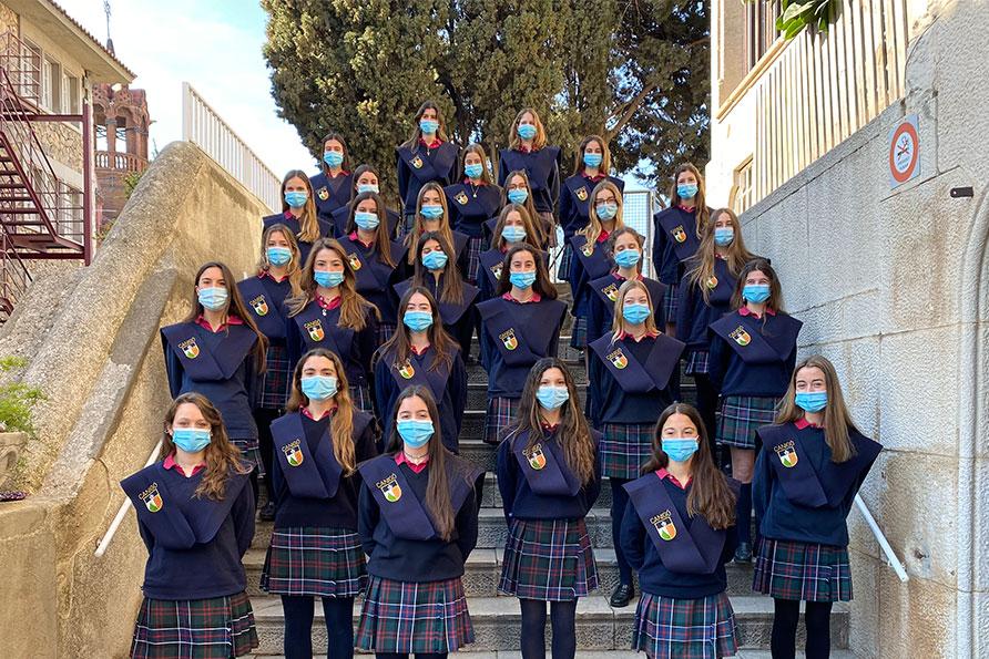 Alumnas del colegio Canigó reciben Distinciones PAU 2021