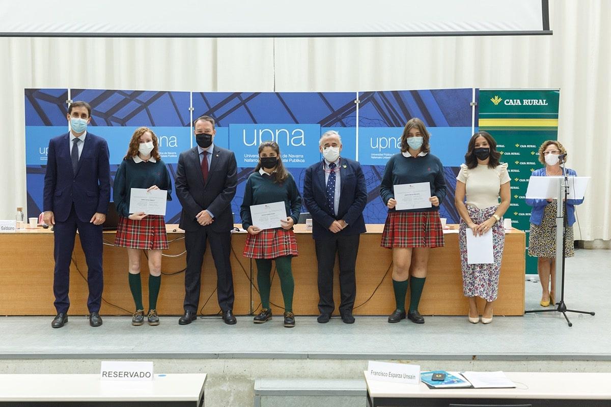 Menciones a las alumnas del colegio Miravalles El Radín en Imagina tu empresa