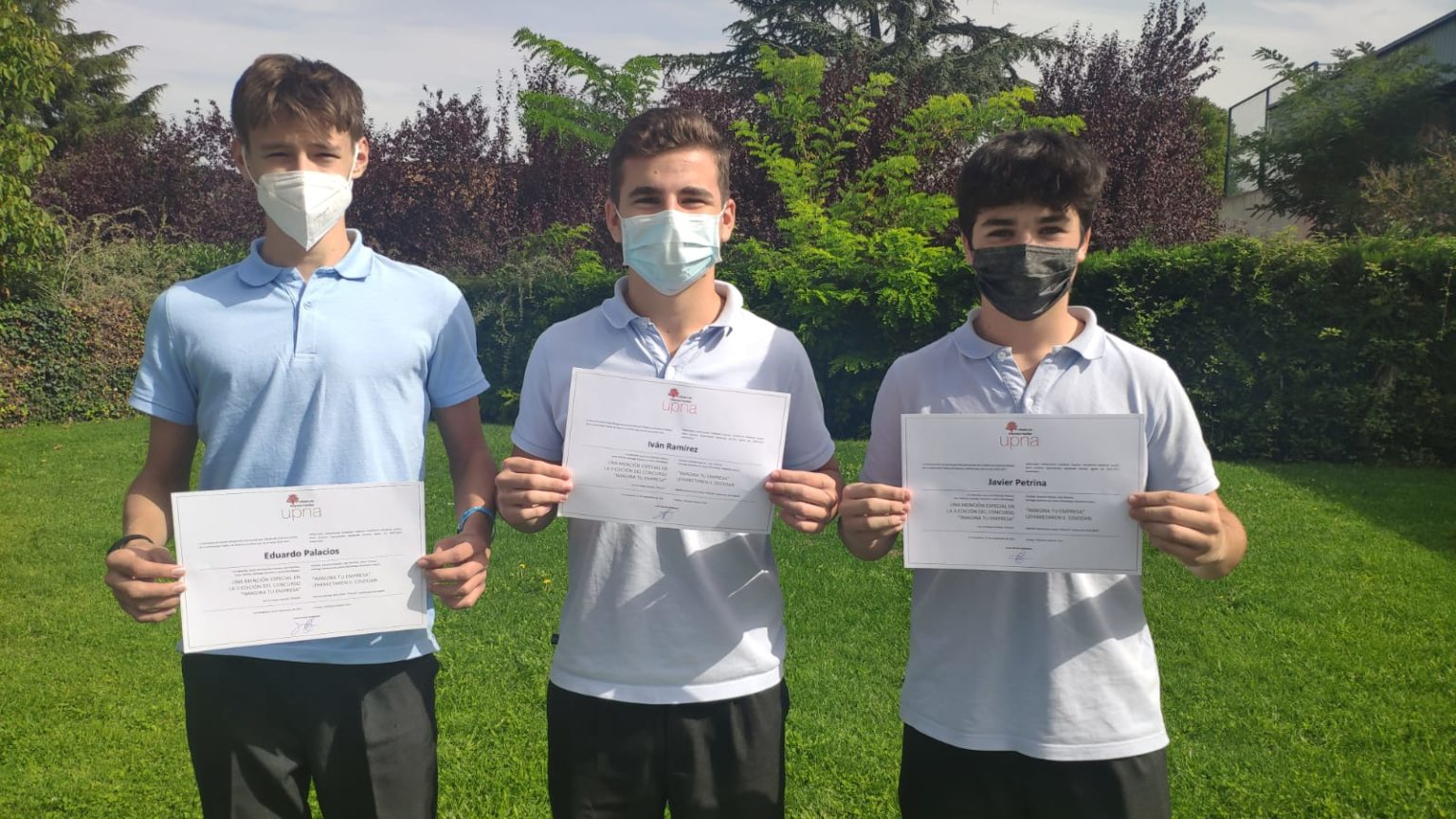 Alumnos del Colegio Miravalles El Redín obtienen primer premio en el Concurso Imagina tu emprensa