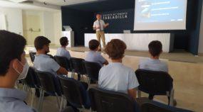 El colegio de Fomento Tabladilla celebra la Semana Mundial del Espacio con una interesante conferencia