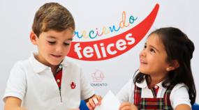 Creciendo felices es el nuevo proyecto de hábitos, valores y emociones para niños de los colegios de Fomento.